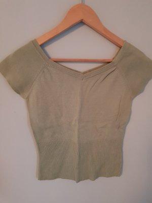 Camisa amarillo limón-verde grisáceo