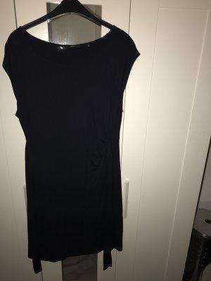 Zero blaues Kleid Größe 42 mit kurzem Arm