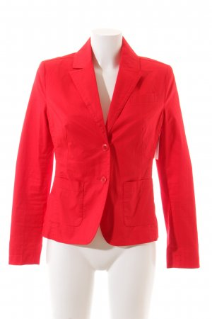 Zero Blazer rot klassischer Stil