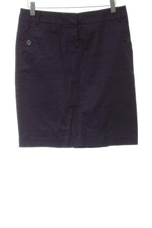 Zero Pencil Skirt dark blue classic style