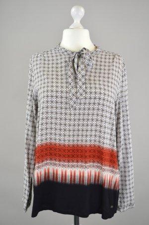 Zero Bluse mit Muster grau Größe 44