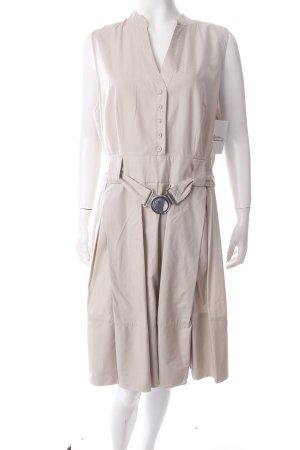 Zero Blusenkleid hellbeige klassischer Stil