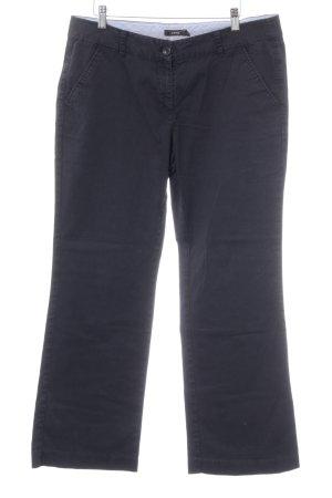 Zero Boot Cut Jeans dunkelblau Casual-Look
