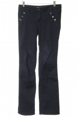 Zero Boot Cut Jeans dunkelblau Street-Fashion-Look