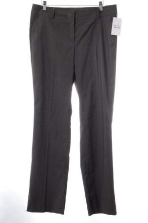 Zero Pleated Trousers dark blue flecked elegant