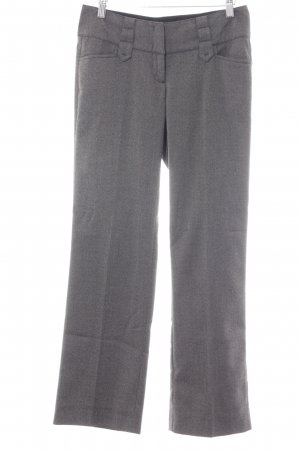 Zero Pleated Trousers grey-dark grey spot pattern business style