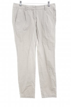 Zero Pleated Trousers grey brown casual look