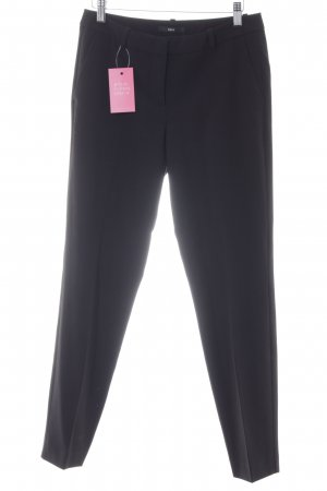 Zero Pleated Trousers black business style