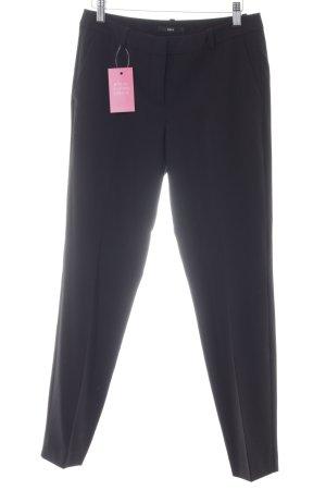 Zero Pantalon à pinces noir style d'affaires