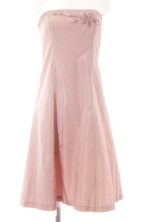 Zero Vestido bustier rosa elegante