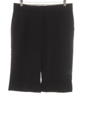 Zero Pantalone Capri nero Stile anni '90