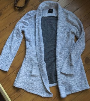 Zero Cardigan in Two-Tone Design