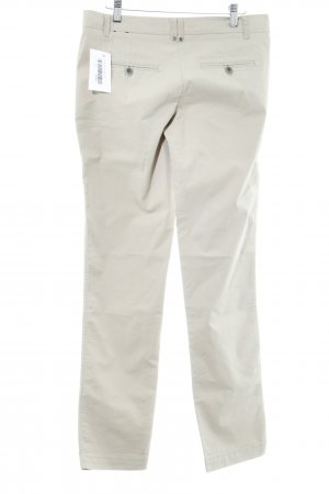 Zero Cargo Pants cream casual look