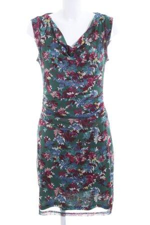 Zero Chiffon jurk volledige print casual uitstraling