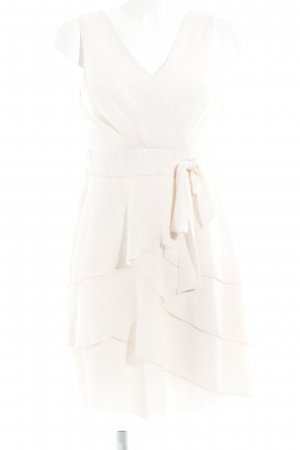 Zero Chiffon Dress oatmeal elegant