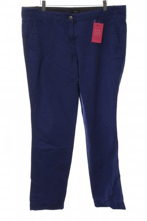 Zero Chinohose neonblau Casual-Look