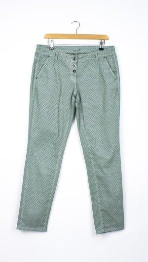 Zero Chinos lime-green-dark grey