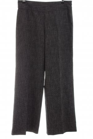 Zero Culottes schwarz meliert Business-Look