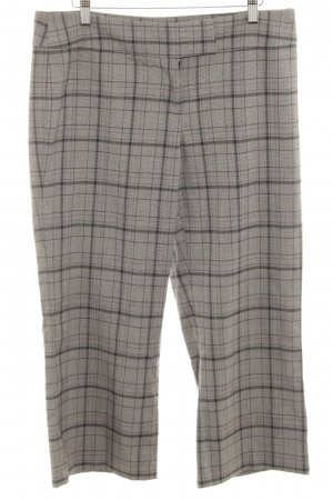 Zero Culottes grey-black check pattern party style