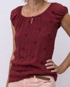 Zero Damen Bluse, Shirt, Pulli, Oberteil Gr. 36 , dunkelrot