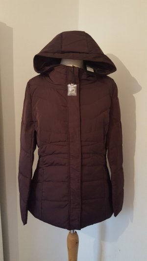 Zero Daunenjacke Mantel lila mit Kapuze Damen Jacke NEU Größe 38 mit Etikett NP 89,95 €