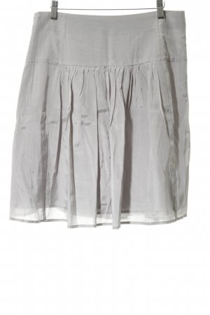 Zero Plaid Skirt light grey casual look