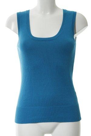 Zero Cardigan en maille fine bleu style décontracté