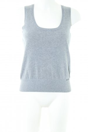 Zero Fine Knitted Cardigan light grey casual look