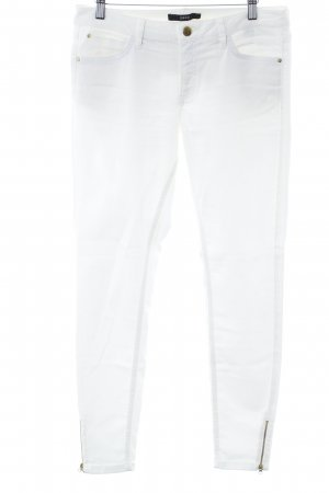 Zero Five-Pocket Trousers white-gold-colored business style
