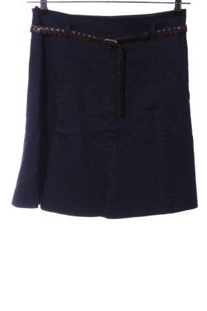 Zero Flared Skirt blue business style