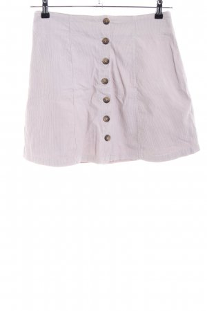 Zero Flared Skirt pink striped pattern casual look