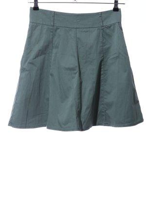 Zero Flared Skirt khaki casual look