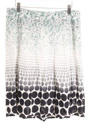 Zero Glockenrock abstraktes Muster Casual-Look