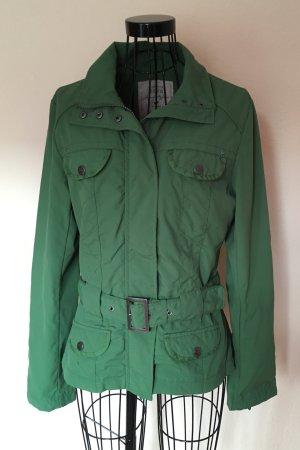 Zero grüne Outdoor Jacke für den Herbst