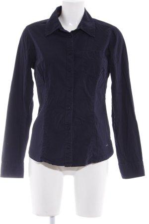 Zero Hemd-Bluse dunkelblau Casual-Look