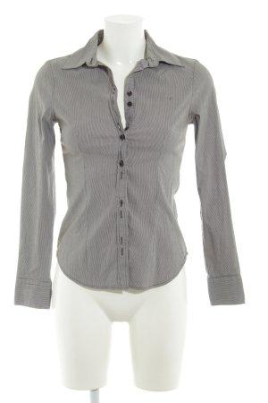 Zero Hemd-Bluse Streifenmuster 90ies-Stil