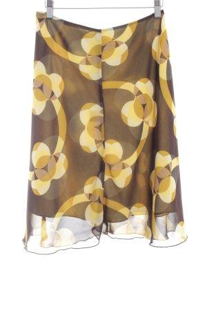 Zero High Waist Skirt spot pattern retro look