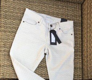 ZERO Hose slim fit stretch, neu, 5pocket, beige, zero collection denim