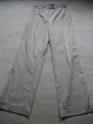 zero hose sommerhose weit neu gr. s 36 beige creme