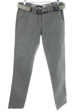 Zero Hüfthose graugrün Casual-Look