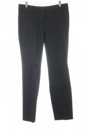 Zero Low-Rise Trousers black business style