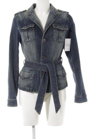 Zero Jeansjacke blau Casual-Look