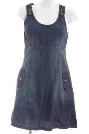Zero Denim Dress blue casual look