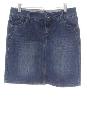 Zero Spijkerrok donkerblauw casual uitstraling