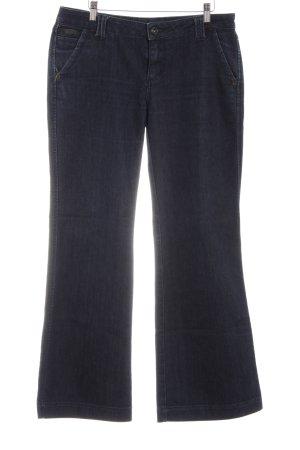 Zero Jeans flare noir style décontracté