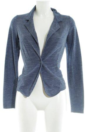 Zero Jersey Blazer azul moteado elegante