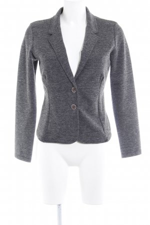 Zero Jerseyblazer grau-anthrazit meliert Business-Look
