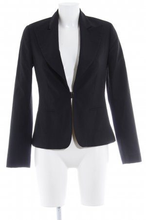 Zero Jerseyblazer schwarz Business-Look