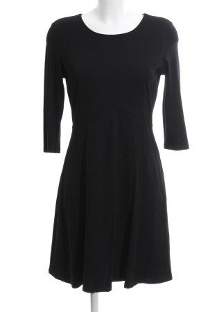 Zero Jerseykleid schwarz Allover-Druck Elegant