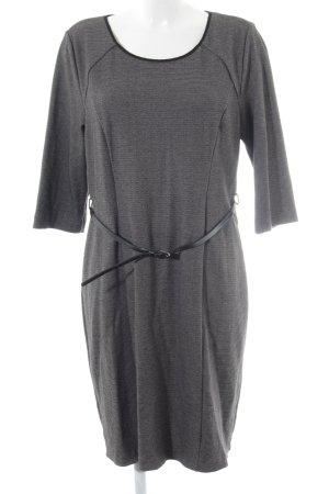 Zero Jerseykleid hellgrau-schwarz Elegant